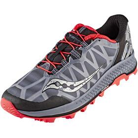 saucony Koa ST Shoes Men Grey/Black/ViziRed
